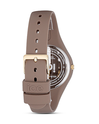 Quarzuhr Ice Glam Forest klein ICE.GL.CAR.S.S.14 beige Ice Watch Damen,Herren Silikon 4895164009817