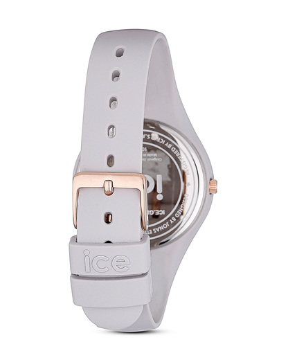Quarzuhr Ice Glam klein ICE.GL.WD.S.S.14 beige Ice Watch Damen,Herren Silikon 4895164009718