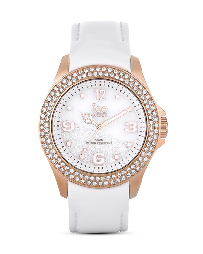 Quarzuhr Ice Crystal CYRGWUL14 Ice Watch roségold,weiß 4895164009213