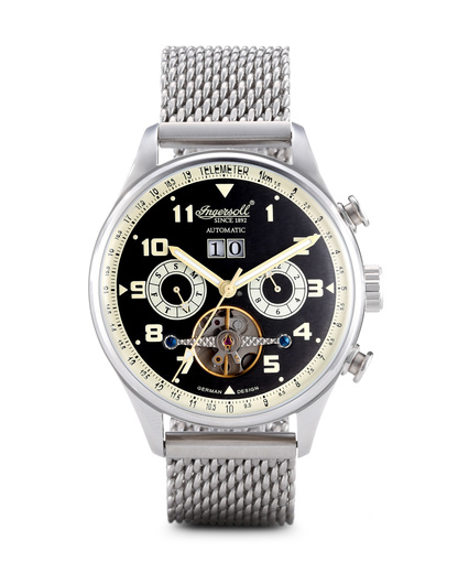 Chronograph Chronograph IN1308BKMB Ingersoll mehrfarbig,silber 4260044130811