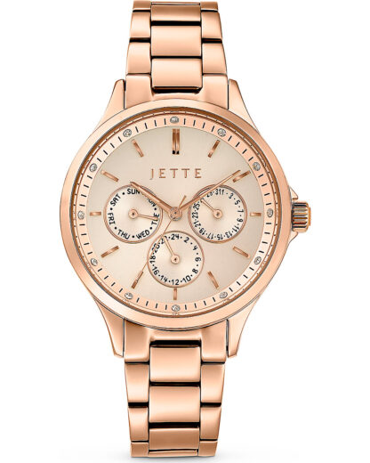 JETTE Time Damen-Uhren Analog Quarz JETTE Time gold 4040615449074