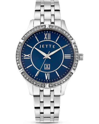 JETTE Time Damen-Uhren Analog Quarz JETTE Time Silber 4040615449098