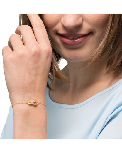 Armband aus 333 Gelbgold JETTE Gold gold  4040615411613