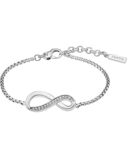 Armband aus Sterling Silber mit 15 Zirkonia JETTE Silver 4040615426358