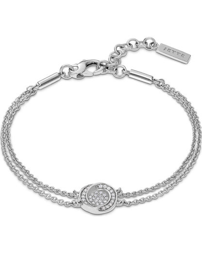 Armband aus Sterling Silber mit 37 Zirkonia JETTE Silver 4040615445311