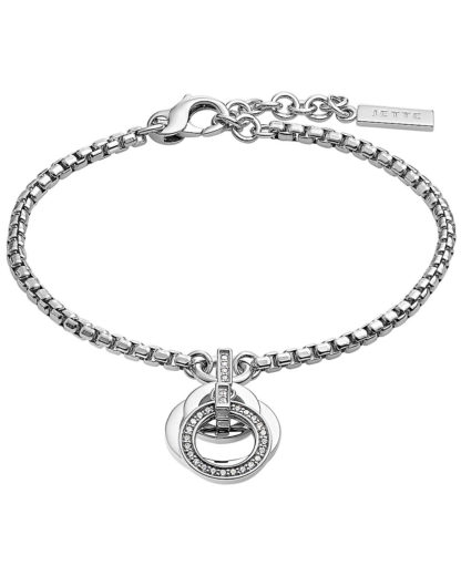 Armband aus Sterling Silber mit 28 Zirkonia JETTE Silver Silber  4040615421476