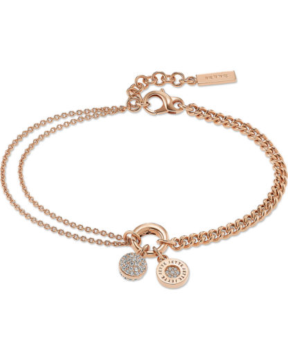 Armband aus Sterling Silber JETTE Silver rosa  4040615356518