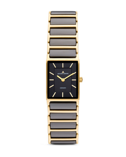 Quarzuhr York 1-1651D JACQUES LEMANS gold,schwarz 4040662104643