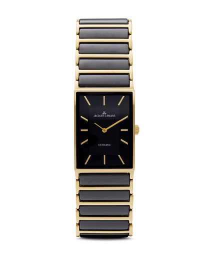 Quarzuhr York 1-1594D JACQUES LEMANS gold,schwarz 4040662101512