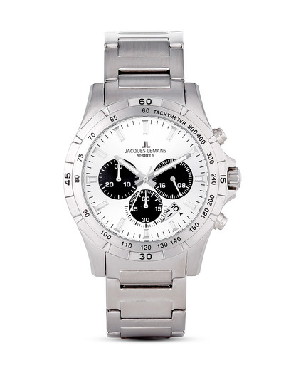 Chronograph Montreal 1-1670G1 JACQUES LEMANS silber 4040662122661