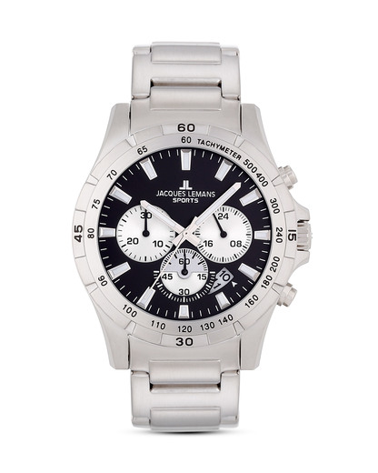 Chronograph Montreal 1-1670F1 JACQUES LEMANS silber 4040662122654
