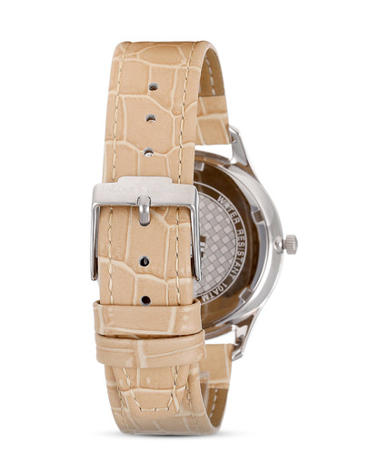 Quarzuhr 1-1841J JACQUES LEMANS Damen Leder 4040662124405
