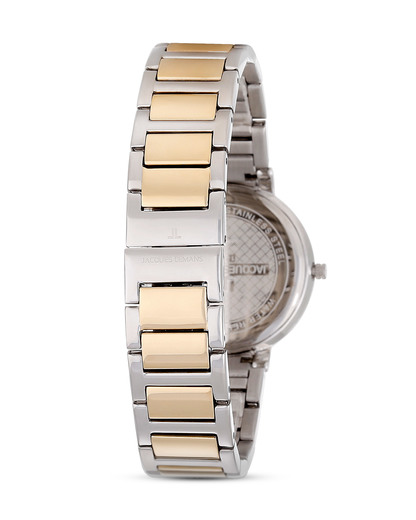 Quarzuhr 1-1843D JACQUES LEMANS Damen Metall 4040662122708