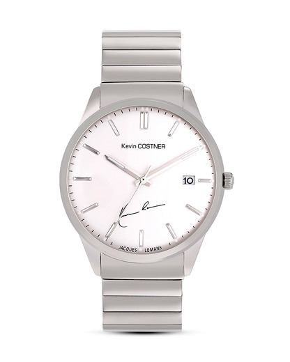 Quarzuhr KC-102D JACQUES LEMANS silber 4040662123521