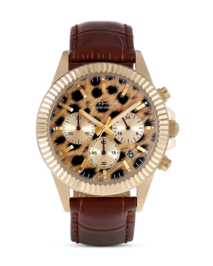 Chronograph La Passion LP-111N JACQUES LEMANS braun,gold 4040662125488