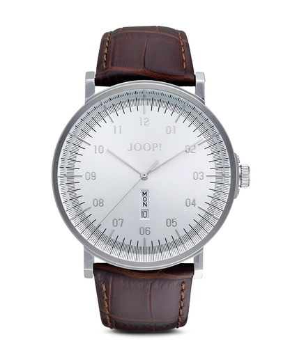 Quarzuhr Time Executive JP100821F02 JOOP! braun,silber 4891945163747