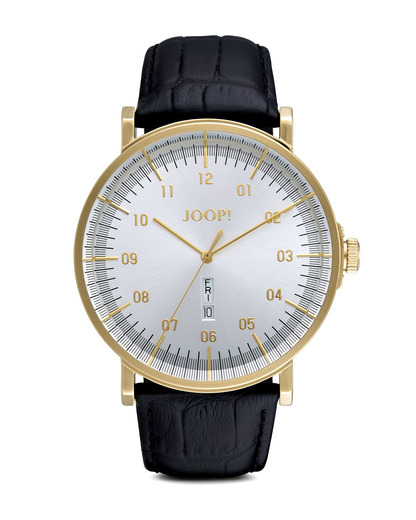 Quarzuhr Time Executive JP100821F04 JOOP! gold,schwarz,silber 4891945163761