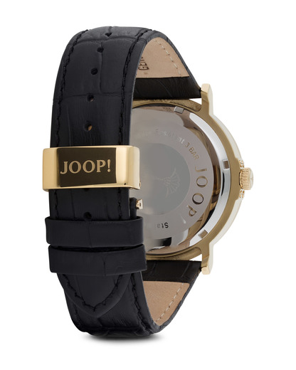 Quarzuhr Time Executive JP100821F04 JOOP! Herren Leder 4891945163761
