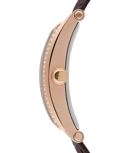 Quarzuhr Time Curve Rose Gold JP100322F07 JOOP! Damen Leder 4891945170301