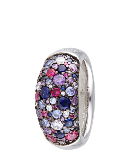 Ring Extreme Pavée Colored 925 Sterling Silber JOOP! 4891945878337