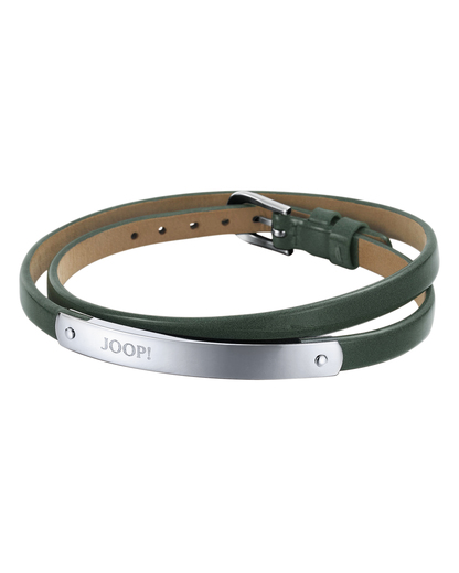 Armband Steel Color Wrap Dark Green Edelstahl JOOP! 4891945914431