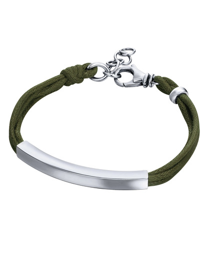 Armband Steel Construction Slim Dark Green Edelstahl JOOP! 4891945914493