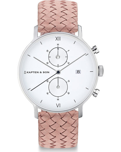 Chronograph CD03A1031F12A Kapten & Son Damen Leder 4251145242220