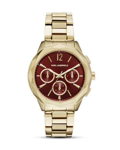 Chronograph Optik KL4011 KARL LAGERFELD gold,rot 4053858714533