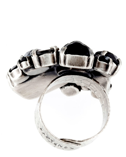 Ring To Katharine With Love Messing KONPLOTT mehrfarbig Swarovski-Stein 5450543147130