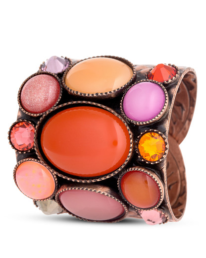 Ring Alien Caviar orange-bunt KONPLOTT 5450543208442
