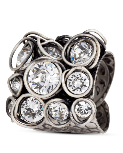 Ring Sparkle Twist weiß KONPLOTT 5450543077833