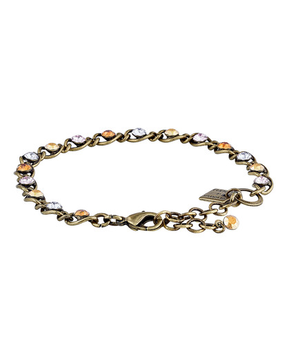 Armband Magic Fireball mit Swarovski-Steinen KONPLOTT braun,gold,orange,violett Swarovski-Stein 5450543301594