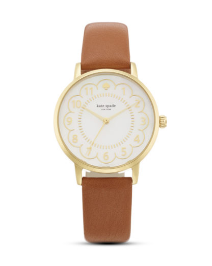 Quarzuhr Scallop Metro 1YRU0835 kate spade new york braun,gold,weiß 4053858546837