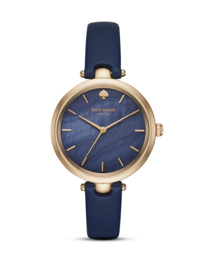 Quarzuhr Classic Holland KSW1157 kate spade new york blau,roségold 4053858712638