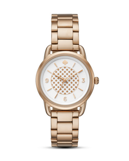 Quarzuhr Classic Boathouse KSW1167 kate spade new york roségold,weiß 4053858712737