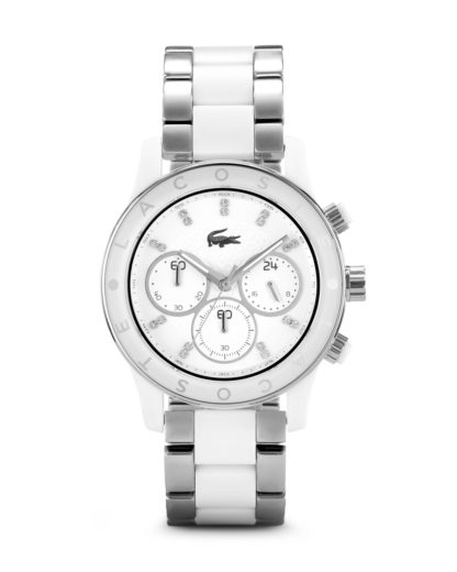Chronograph CHARLOTTE 2000803 Lacoste weiß 7613272102421
