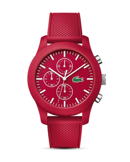 Chronograph 12.12 2010825 Lacoste rot,weiß 7613272191531