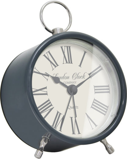 Wecker 34350 London Clock Damen schwarz 5013648032680