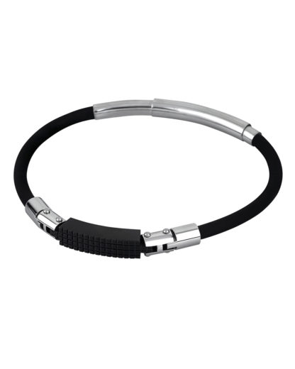 Armband Men in Black aus Kautschuk Lotus Style 8430622640971
