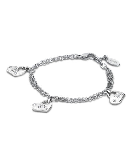 Armband Woman´s Heart aus Edelstahl Lotus Style 8430622641237