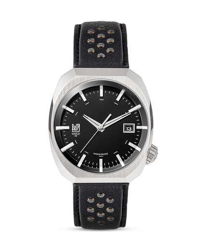 Quarzuhr AM3-BLACK_L MARCH LA.B schwarz,silber 3760248810485