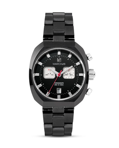 Chronograph AM3-CHRONO-VADER-A MARCH LA.B schwarz,weiß 3760248810638