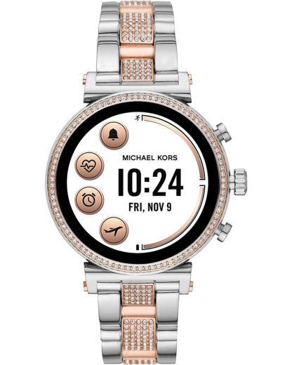 Michael Kors Access Damen-Uhren Digital Akku (Lithium-Ion) MICHAEL KORS ACCESS mehrfarbig 4013496438505