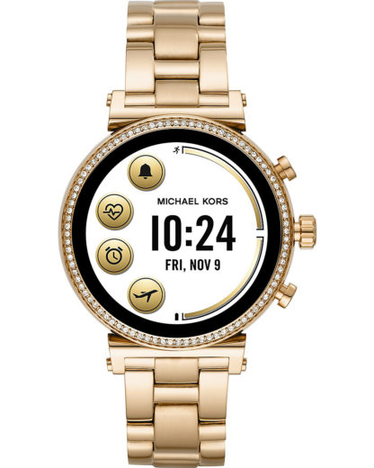 Michael Kors Access Damen-Uhren Digital Akku (Lithium-Ion) MICHAEL KORS ACCESS gold 4013496437553