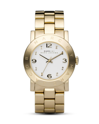 Quarzuhr Amy MBM3056 MARC JACOBS gold,weiß 4048803843901