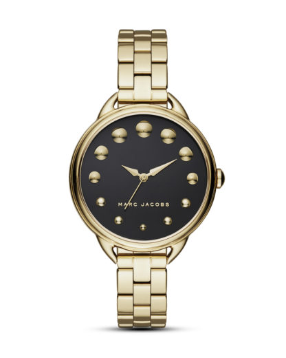 Quarzuhr Betty MJ3494 MARC JACOBS gold,schwarz 4053858705180