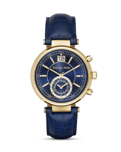 Chronograph Sawyer MK2425 MICHAEL KORS blau,gold 4053858506992