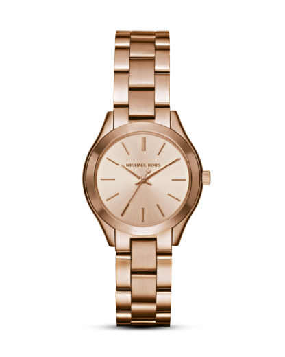 Quarzuhr Mini Slim Runway MK3513 MICHAEL KORS roségold 4053858677081