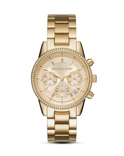 Chronograph Ritz MK6356 MICHAEL KORS Gold 4053858642355