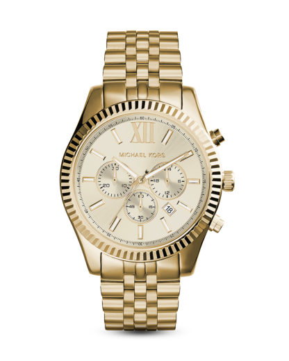 Chronograph Lexington MK8281 MICHAEL KORS gold, 4051432739415